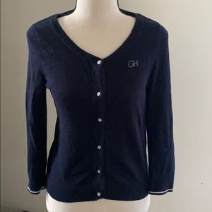 Gilly Hicks button down sweater